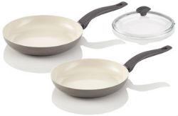 Комплект сковород Delimano Ceramica Prima+ Trio Pan Set