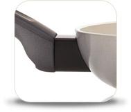 Комплект сковород Delimano Ceramica Prima + Trio Pan Set