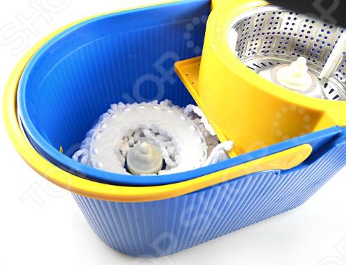 ведро для мытья пола с отжимом