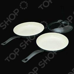 Комплект сковород Delimano Ceramica Prima Trio Pan Set