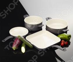 Комплект посуды Delimano Ceramica Prima Starter+