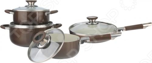 Набор кухонной посуды Bohmann BН-6208 ковш bohmann bh 2318