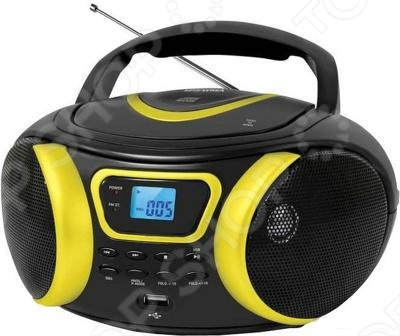 Магнитола BBK BX-107U с поддержкой CD привода, который воспроизводит аудио файлы в таких форматах как: MP3 и CD DA, WMA. Это достаточно мощная модель с ультрасовременным дизайном, технология Pure Sound, остащена системой усиления басов Bass Boost, AM FM тюнером и удобным LCD дисплеем.