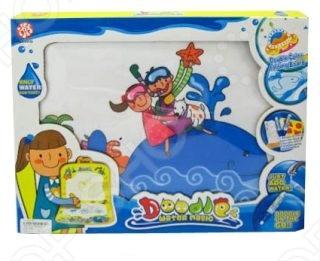 Коврик для рисования водным маркером Shantou Gepai - интересная и оригинальная игрушка для Вашего малыша. Коврик очень удобно использовать как детям, так и родителям. Его можно расстелить на полу или повесить на стену. Специальный маркер, который входит в набор - заполняется водой после чего им можно рисовать на коврике. Предназначен для детей старше 1 года.