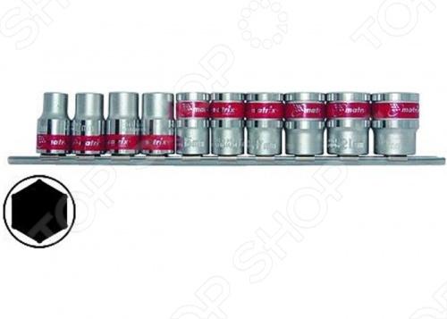 Набор торцевых головок MATRIX 6-ти гранных 3/8 portable usb digital microscope 1000x 8 led 2mp black practic electronic microscope endoscope magnifier camera