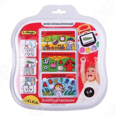 Набор картриджей K-Magic «Английский язык для малышей» игровые наборы k magic набор картриджей визуальное восприятие