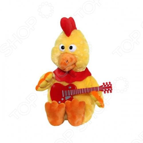 Мягкая игрушка интерактивная Музыкальные подарки «Петушок-золотой гребешок»