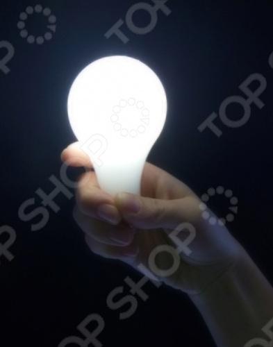 Магическая лампочка Magic BulbНаборы для фокусов<br>Магическая лампочка M027 это отличный аксессуар для тематических вечеринок и просто для разыгрывания друзей. Лапочка начинает светиться в тот момент, когда она зажата в руках. Фактически, необходимо оказать давление на рукоять для активизации лампочки. В наборе есть лампочка и два кольца. С этим устройством вы сможете приковать к себе внимание всех друзей.<br>