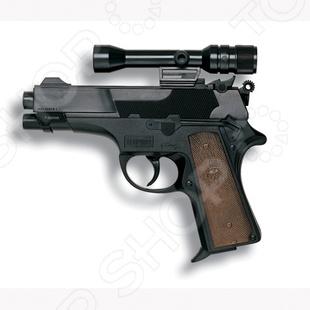 Пистолет Edison Giocattoli Leopardmatic пистолет edison giocattoli long boy western