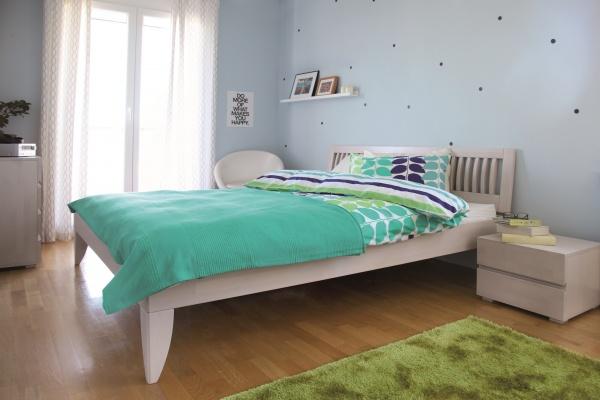 Фото Комплект постельного белья Dormeo Variety. 2-спальный. Цвет: морская волна