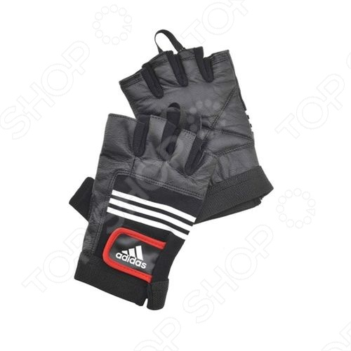 Перчатки тяжелоатлетические Adidas - артикул: 174286