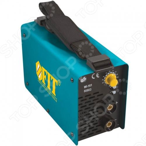 Аппарат сварочный инверторный FIT WI-141 позволяет сваривать цветной метал и сталь. Дуговой тип сварки. Компактный сварочный аппарат создан для ручной сварки и подойдет для малых предприятий и мастерских. Предусмотрено постоянное принудительное охлаждение. Минимальный сварочный ток 5 А, а максимальный 140 А. Мощность составляет 5500 Ватт.