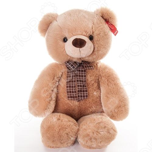 Мягкая игрушка Aurora «Медведь медовый с бантом» 69 см aurora медведь медовый с бантом 45см 21 137