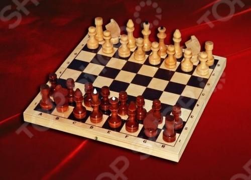 Шахматы лакированные с доской - артикул: 57199