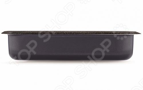 Форма для выпечки PENSOFAL PEN8525-BМеталлические формы для выпечки и запекания<br>Форма для выпечки PENSOFAL PEN8525-B предназначена для качественного приготовления выпечки в домашних условиях. Классическая прямоугольная форма подойдет для приготовления коржей, кексов, запеканок и лазаньи. Особая округленная форма предназначена для равномерного распределения тепла и экономии энергии, что позволяет использовать изделие как в духовке, так и на любом типе конфорки. С этой формой готовка будет приносить вам только удовольствие от процесса. Основу формы составляет алюминий с высокой теплопроводностью, а двойное стальное дно поддерживает нужную температуру, обеспечивая равномерное пропекание и подрумянивание корочки. Дно сделано из специальной нержавеющей стали с вкраплением твердых минеральных частиц, которые обеспечивают легкость очисти после готовки. Вся форма покрыта четырехслойным антипригарным покрытием Bio Stone . Дно защищено от царапин, деформаций и скольжения.<br>