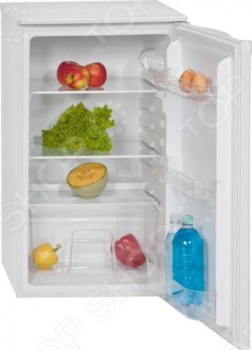 Однокамерный холодильник Bomann VS 164.1 отлично подойдет для дачи или офиса. Это экономичная модель с классом энергопотребления A . Оснащен 3 полками из стекла, 3 карманами на двери, одним ящиком для овощей. Есть подставка для яиц. Температура регулируется в диапазоне от 0 до 8 градусов.