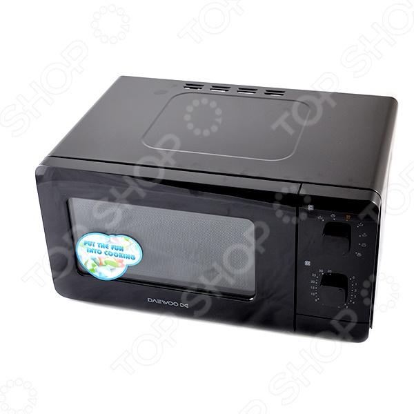 Микроволновая печь Daewoo Electronics KOR-5A07B микроволновая печь daewoo kor 5a07b черный