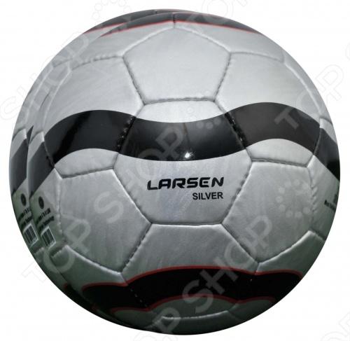 Мяч футбольный Larsen LuxSilver мяч футбольный larsen duplex