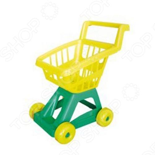 Тележка для супермаркета НТМ игрушечная тележка совтехстром тележка для супермаркета 4607056794677