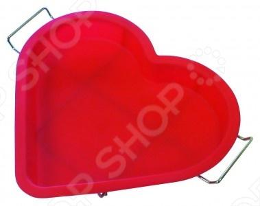Форма для выпечки силиконовая Regent Сердце форма для выпечки силиконовая regent золотой шар