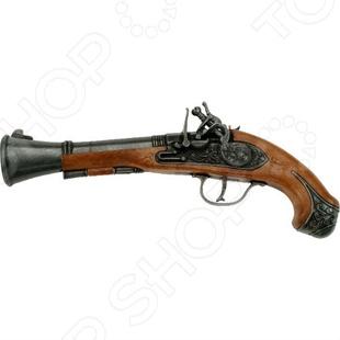 Пистолет Schrodel Blunderbuss PiratПистолеты<br>Пистолет Schrodel Blunderbuss Pirat оружие, с которым ребенок почувствует себя настоящим стрелком. Сама стрельба производится пистонами, что делает игровой процесс более реалистичным. В качестве мишени можно использовать простой картонный лист с нарисованной целью, это поможет грамотно выработать умение стрельбы. Кроме того, оружие выглядит невероятно круто. Перед использованием нужно произвести инструктаж для ребенка.<br>