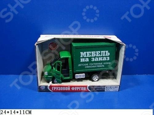 Машина инерционная Joy Toy «Газель фургон Мебель» Р40515 гтц на газель бизнес