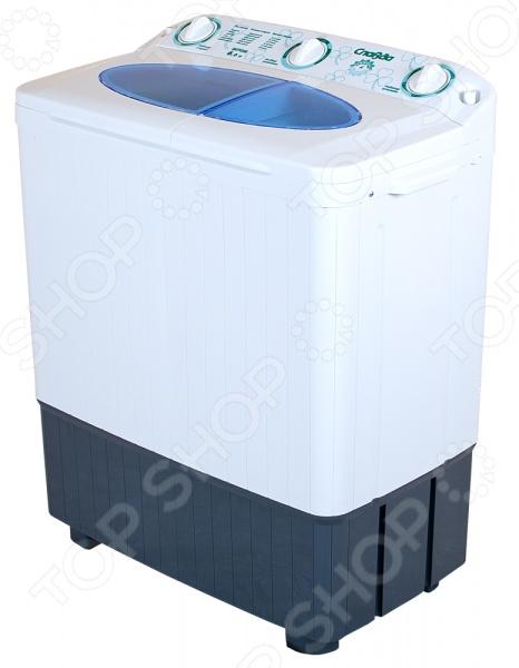 Стиральная машина Славда WS-60PET относится к типу активаторных машин, которые пользуются спросом до сих пор. Модели этого класса выбирают те, кто не видит смысла в большом наборе автоматических функций. Устройство превосходно справляется со стиркой вещей из хлопка, шерсти, синтетики, а также трикотажных тканей. При этом энергопотребление находится на приемлемом уровне. Частота вращения центрифуги составляет 1350 оборотов в минуту вместимость барабана 4.5 кг . Уникальная конструкция активатора максимально эффективно распределяет потоки воды. Корпус из пластика не подвержен коррозии. Потребляемая мощность 500 Ватт. Обновленный дизайн из линейки New Energy.