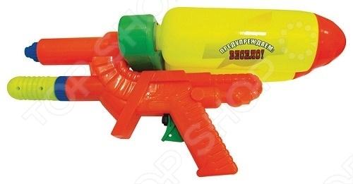 Водный пистолет Тилибом Т80453Водные пистолеты<br>Водный пистолет Тилибом Т80453 это отличный водный пистолет, который станет прекрасным развлечением для ваших детей в жаркий летний день. С такой игрушкой могут веселиться и взрослые, ведь летом так здорово поливать друг друга водой. Залейте в емкость воду, после чего пистолет начнет стрелять мощной струей воды при нажатии на курок. Водный пистолет Тилибом Т80453 подойдет детям от 3 лет.<br>