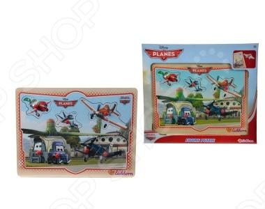 Пазл для детей Eichhorn Самолеты - это замечательный подарок для вашего малыша. Набор состоит из 8 деталей, которые образуют единую картинку. Детали изготовлены из дерева, что делает эту игрушку прочной и долговечной. Игрушка тренирует память, логическое мышление, наблюдательность, развивает усидчивость и мелкую моторику малыша. Размер игрушки - 30 х 22,5 см.