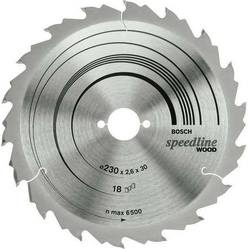 Диск отрезной для ручных циркулярных пил Bosch Speedline Wood 2608640805