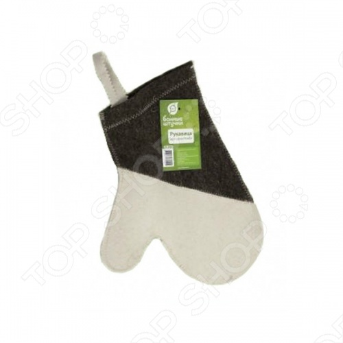 Рукавица для сауны Банные штучки «Комби» рукавица для бани и сауны банные штучки 33262
