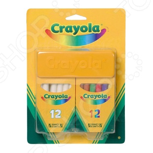 Набор мелков Crayola crayola llc crayola oil pastels 28 color set set of 12