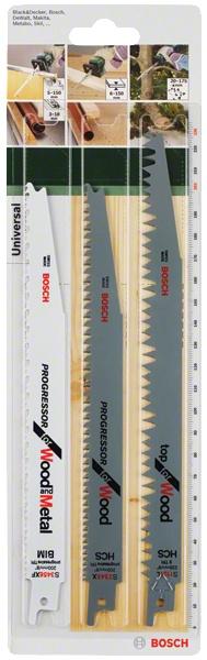 Набор пилок сабельных Bosch 2609256797