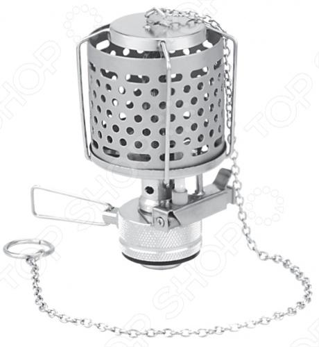 Лампа туристическая с металлическим плафоном и пьезоподжигом Tramp TRG-014