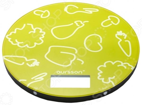 Весы кухонные Oursson KS 5003 GD кухонные весы oursson ks5009gd rd