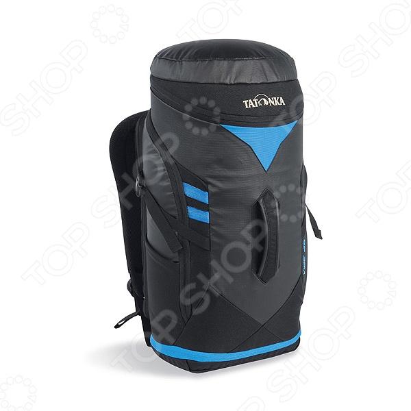 Рюкзак Tatonka Vibe 25Рюкзаки<br>Tatonka Vibe 25 - это отличный рюкзак, который подходит как для туристических целей, так и для использования его в городе. Высококачественные материалы, из которых он изготовлен обеспечивают надежность и позволяют переносить груз, объемом до 30 литров, чего вполне достаточно для того, чтобы взять с собой в поход все необходимое. Объем рюкзака может быть изменен с помощью открывания или закрывания молнии, а наличие у него специального отделения для ноутбука, придется по душе любому современному человеку.<br>