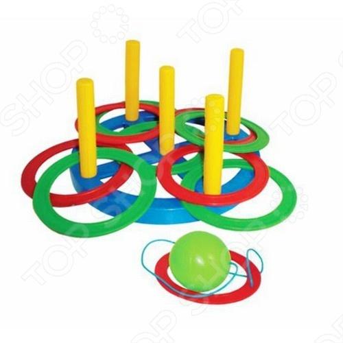 Игрушка 2 в 1 ПЛЭЙДОРАДО «Набрось кольцо и поймай шарик»