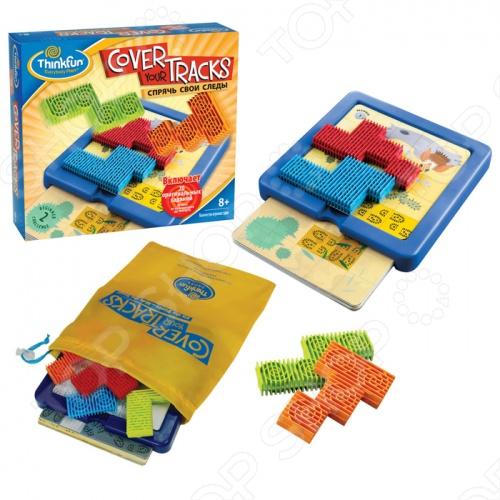 Игра-головоломка Thinkfun «Спрячь свои следы» thinkfun кубическая головоломка tipover