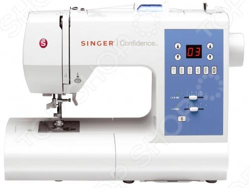 Швейная машина Singer Confidence 7465 швейная машина singer confidence 7470 белый