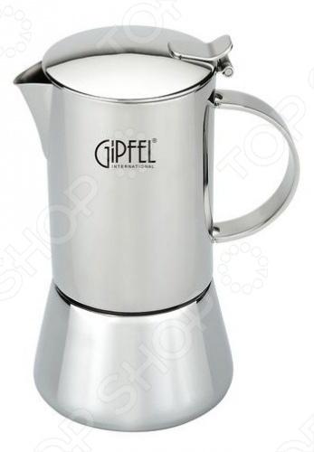 Кофеварка гейзерная Gipfel 7120 гейзерная кофеварка 300мл на 6 чашек gipfel iris 5326