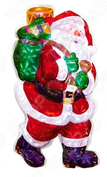 Декорация рождественская Star Trading Санта с подарками