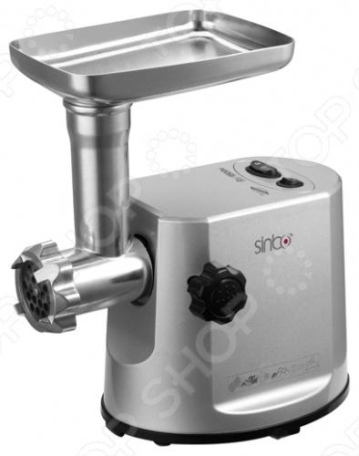 Мясорубка Sinbo SHB-3083Мясорубки<br>Мясорубка Sinbo SHB 3083 - это традиционная помощница, созданная специально для каждой кухни. Каждый кто любит готовить, знает, что мясорубка это необходимый инструмент для поваров, дело в том, какая по характеристикам лучше себя показывает. Итак, многофункциональная мясорубка с пластиковым корпусом, металлическим лотком, трехэлементным режущим узлом для переработки жилованного мяса и ножами из нержавеющей стали, которые отлично справляются с мясом. Машинка перерабатывает до 2 кг мин, порадует системой реверса, для более удобного приготовления жилистого мяса, и прорезиненными ножками, которые не дадут мясорубке соскользнуть со стола во время работы.<br>
