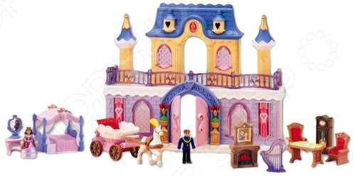 Набор игровой для девочек Keenway «Fantasy Palace» джинсы женские wrangler цвет темно синий w27hcw51l размер 29 32 44 46 32