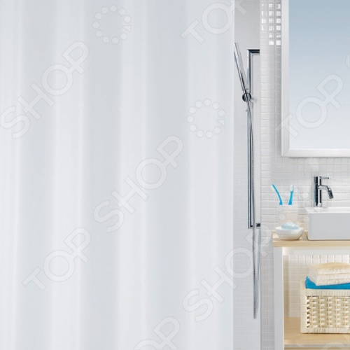 Штора для ванной комнаты Spirella BIO