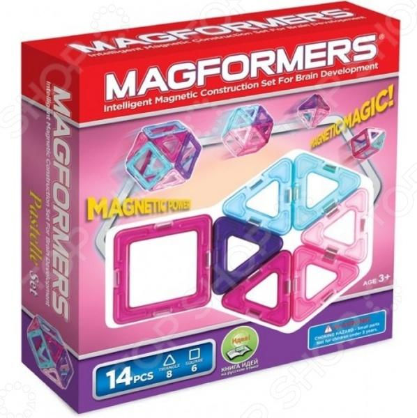 Конструктор магнитный Magformers 14 Pastelle