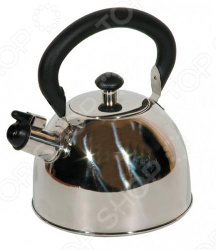 Чайник со свистком Regent 93-2003 чайник regent inox promo со свистком 2 3 л 94 1503