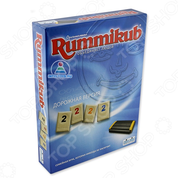 Игра настольная KOD KOD Rummikub отличный подарок для вашего малыша. В настольную игру одновременно могут играть от двух до четырех игроков. Время раунда составляет примерно 20 минут. Цель игры: игроки должны как можно быстрее избавиться от своих фишек, собирая определенные комбинации и заработать наибольшее количество очков. Игра настольная KOD KOD Rummikub поможет развить вашему ребенку логическое мышление, внимательность и память.