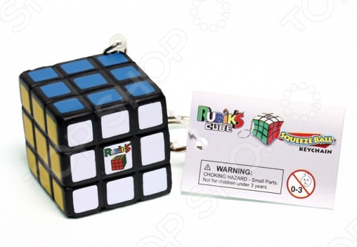 Брелок-головоломка Rubiks «Мини-Кубик Рубика 3х3» for hyundai tucson 2006 2007 2008 2009 2010 2011 2012 2013 2014 waterproof anti slip car trunk mat tray floor carpet pad