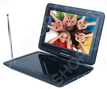 фото DVD-плеер портативный Rolsen RPD-10D07 TBL, DVD и Blu-Ray плееры