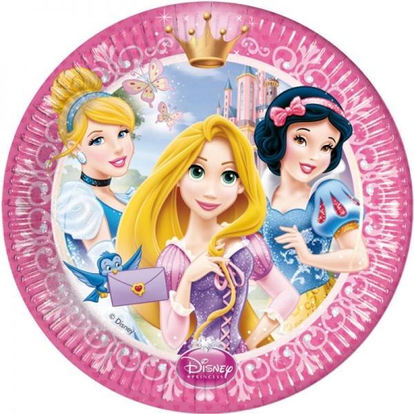 Тарелки одноразовые Procos «Принцессы Дисней - сказочный мир»